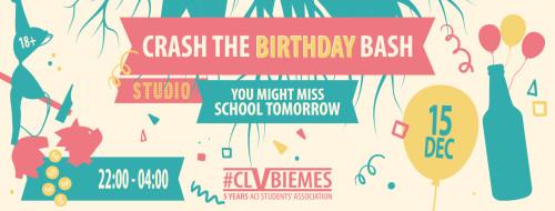 15 DEC: CRASH THE BIRTHDAY BASH