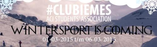 Weekje weg op wintersport met #CLUBIEMES